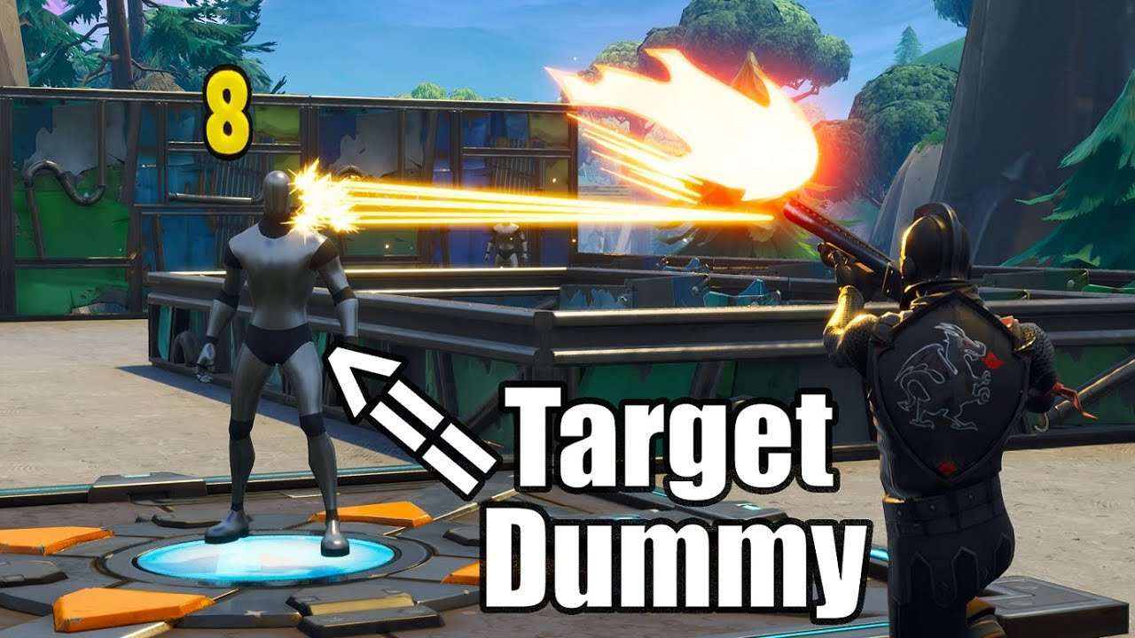 Shooting Range in Fortnite - New Best Way To Practice Aim