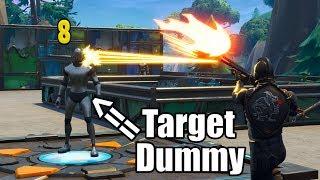 Shooting Range in Fortnite - New Best Way To Practice Aim