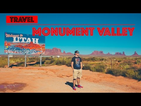 I fly my drone over the Monument Valley in Utah