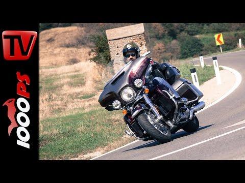 Harley-Davidson CVO Limited Test   Action, Fazit