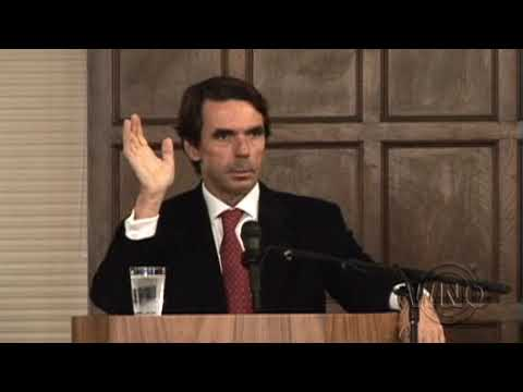Former Prime Minister Of Spain Jose Maria Aznar On Afghanistan