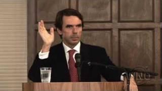 Former Prime Minister Of Spain Jose Maria Aznar On Afghanistan