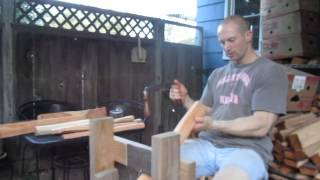 Green Woodworking: Black Locust Hatchet Handle