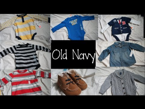 Mommy Haul Baby Boy Clothes from Old Navy
