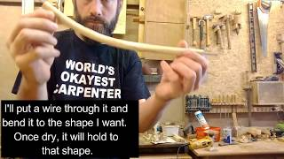 Making a Churchwarden Pipe and Display Stand (Part 1 of 2)