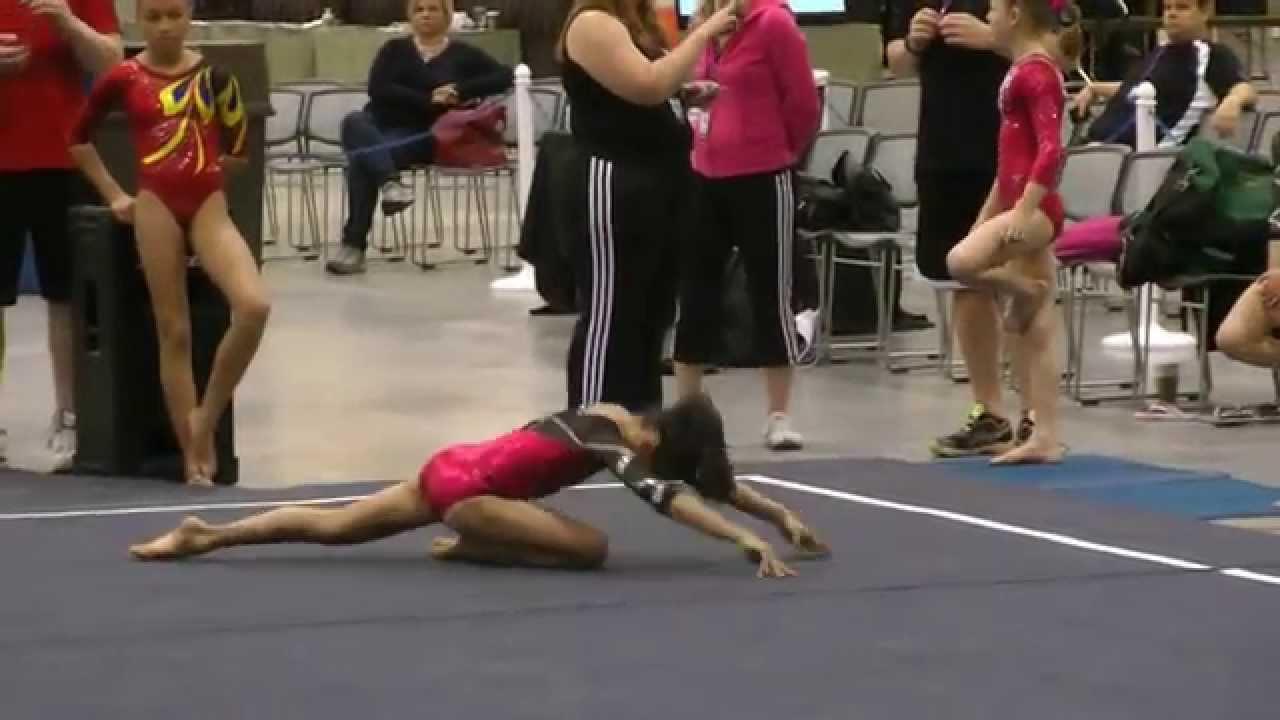 regional 1 gymnastics meet 2013 spike