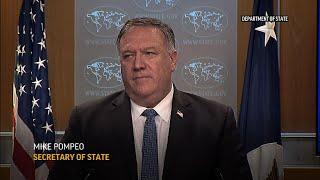 Pompeo wants Iran arms embargo extension vote at UN