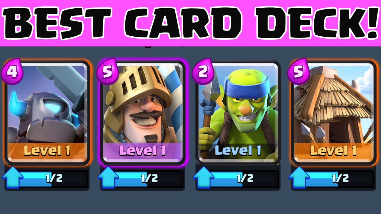 Clash Royale BEST CARDS / DECK FOR BEGINNERS AND EXPERTS | EARLY GAME ...