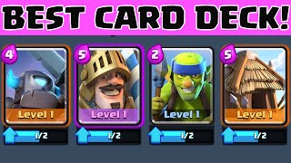 clash royale best cards deck for beginners and experts   early game strategy