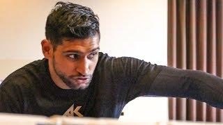 Amir Khan FULL PUBLIC WORKOUT vs Phil Lo Greco