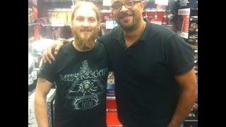 Guitar Center-Rockford 2014 Drum Off Winner Ryan Tomkus