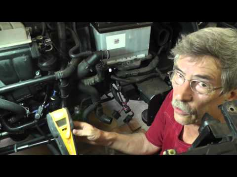 Volkswagen Jetta Secondary Air Injection Diagnosis Part 10 (DIY Diagnosis on Car)