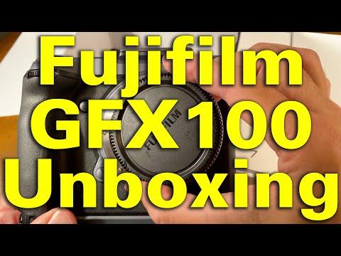 $10,000 Fujifilm GFX100 Unboxing 4K