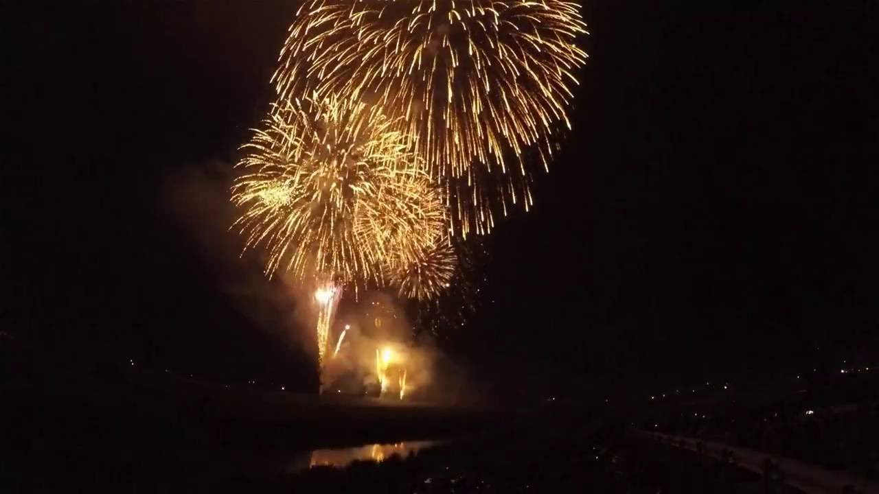 2016 綾の花火大会 / AYA,TOWN Fireworks 2016 / GoPro HERO4 BE [4K]