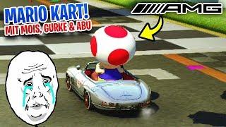 😂 Gurkensoldat FLEXT mit AMG | Mario Kart 8 Deluxe mit Mois, Gurke & Abu