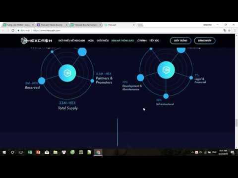 HEXCASH ICO REVIEW - HexCash được xây dựng trên  Ethereum Blockchain System