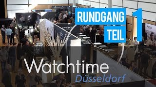 Video: Watchtime Düsseldorf Markenrundgang Teil 1