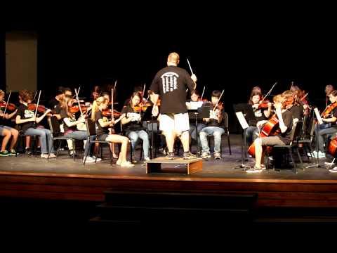 Osbourn Park High School Orchestra - Farandole by Bizet arr by Merle Isaac