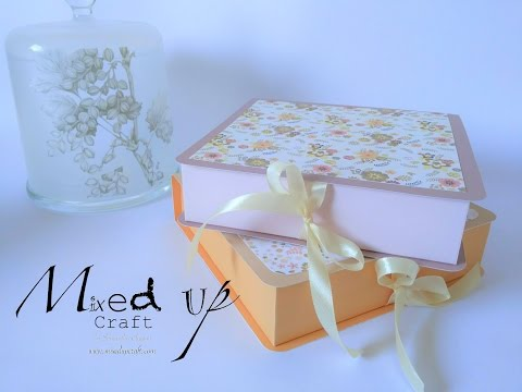 Mothers Day Gift Box Tutorial.