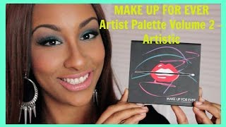 Collaboration: MAKE UP FOR EVER Artist Palette Volume 2 – Artistic FIRST IMPRESSION + SWATCHES