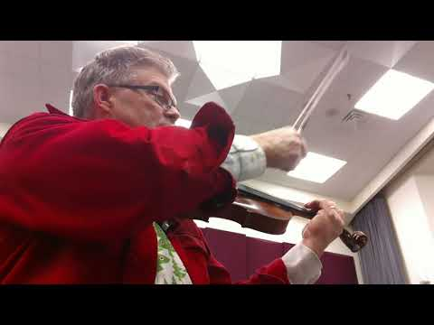 Suite for for Strings by Robert Washburn 3rd Movement Scherzo 2nd violin part