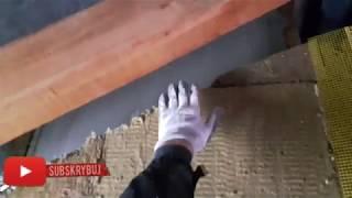 Budowa domu obróbka komina nad stropem