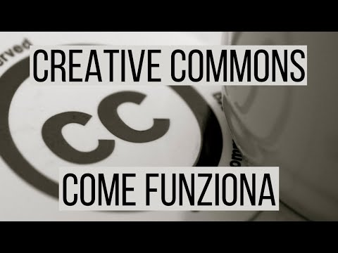 Come funziona la licenza Creative Commons