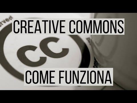 Come funziona la licenza Creative Commons
