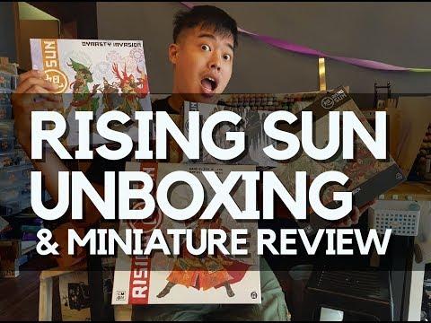Rising Sun Unboxing / Miniature Review ( Kickstarter Exclusives )