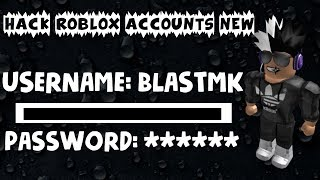 How to hack roblox accounts 2017! Acc Giveaway