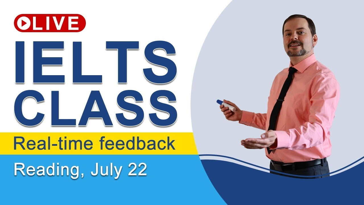 IELTS Live - Reading Section - Practice to Get a Band 9