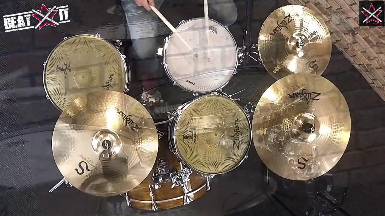 Zildjian LV348 Pack cymbales Low Volume 13/'/'14 et 18/'/'