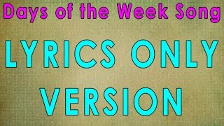 Gambar cover Days of the Week Song | Days of the Week | Jack Hartmann | Educational Songs