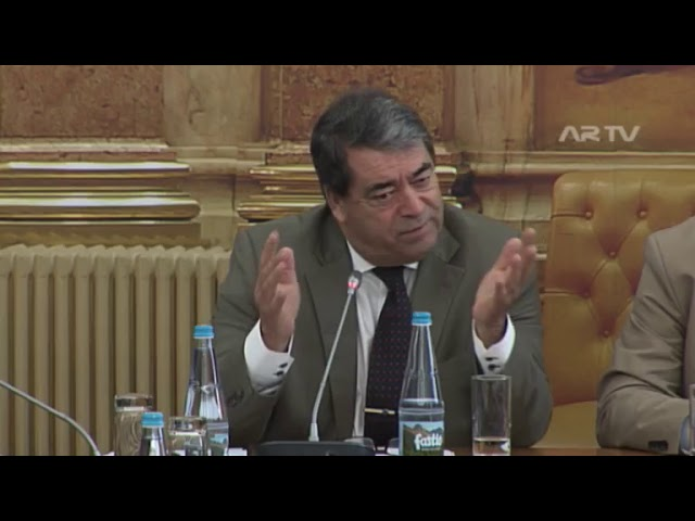 O Eurodeputado António Marinho e Pinto na Assembleia da República