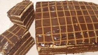 Очень вкусный торт без миксера