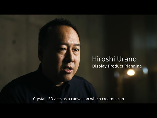 Crystal LED C-series / B-series Developer's Interview Video