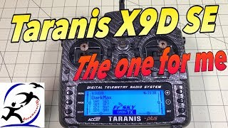 FrSky Taranis X9D Plus SE, My pick for the best radio you can get