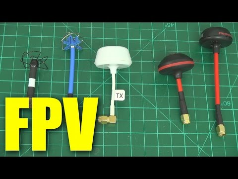 5.8GHz FPV omnidirectional antenna shootout