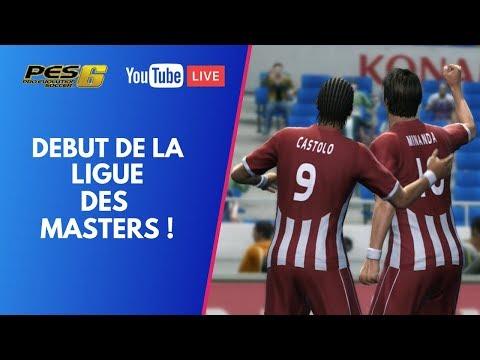 PES 6 : On continue la Ligue des Masters !