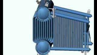 Котел паровий Е-1,0-0,9 (Steam-boiler Е-1,0-0,9)