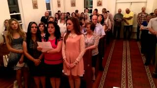 St. Mary the Virgin Syriac Church in BC Cross Hymn yasaidee