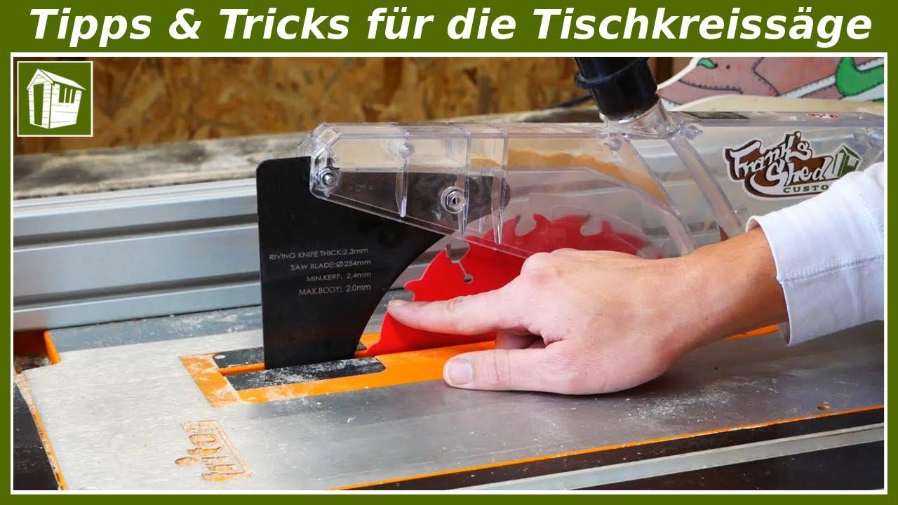 Download 5 HILFREICHE Tipps & Tricks für die Tischkreissäge   Werkstatt Hacks