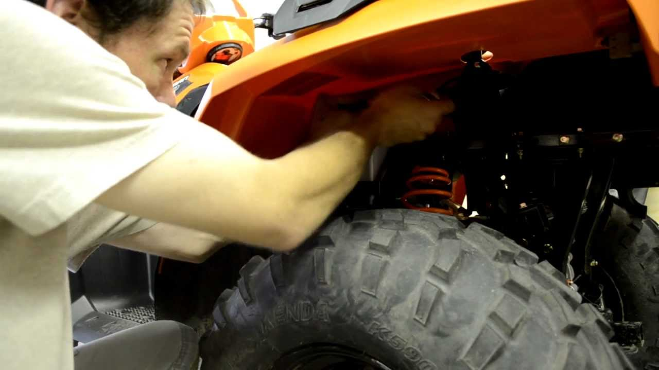 Polaris Scrambler 850 >> How to install a winch on a 2012 polaris sportsman part 2 - YouTube