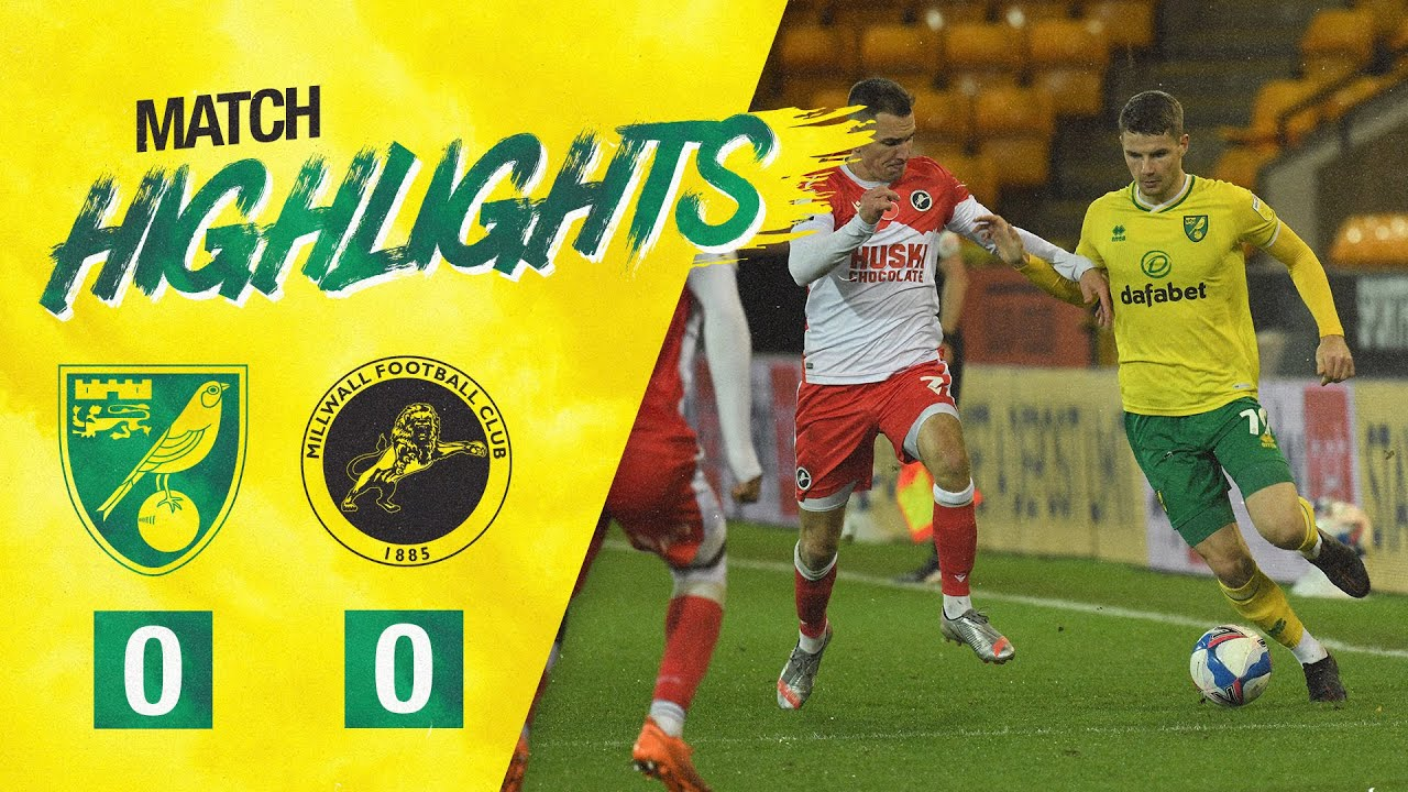 HIGHLIGHTS | Norwich City 0-0 Millwall