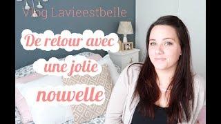 🎦  Vlog - De retour avec une jolie nouvelle 🎦