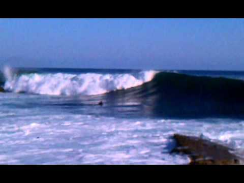 Exciting high waves at Rock Pile, Laguna Bch.