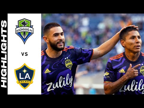 Seattle Sounders Los Angeles Galaxy Goals And Highlights