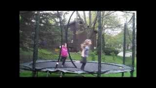 JumpSport AlleyOop Sports VariableBounce Trampoline Review Thumbnail