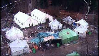 Kiürítették a bosnyák-horvát határ közelében a Vucjaki befogadótábort