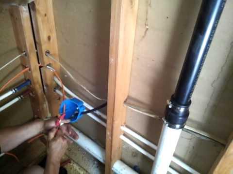 laundry room plumbing 1 youtube